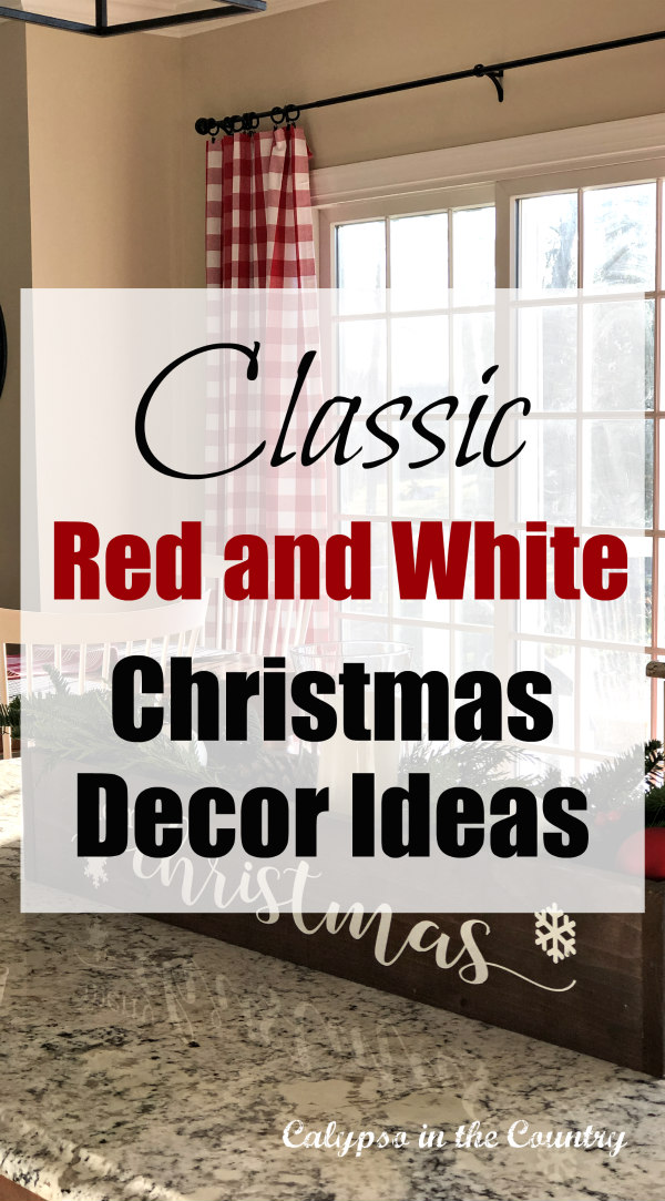 Red and White Christmas Decor Ideas