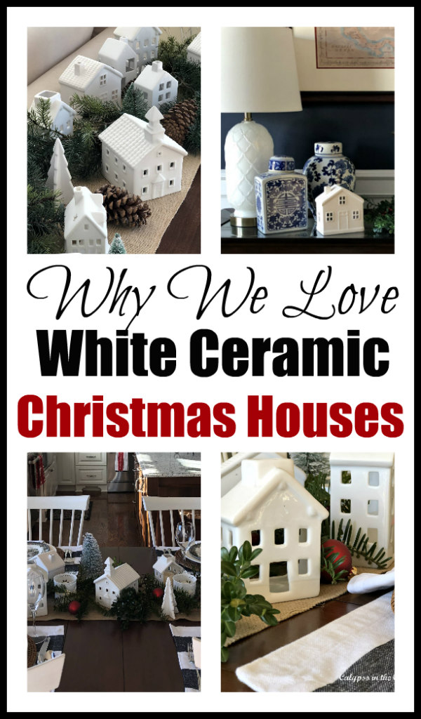 Why We Love Those White Ceramic Christmas Houses