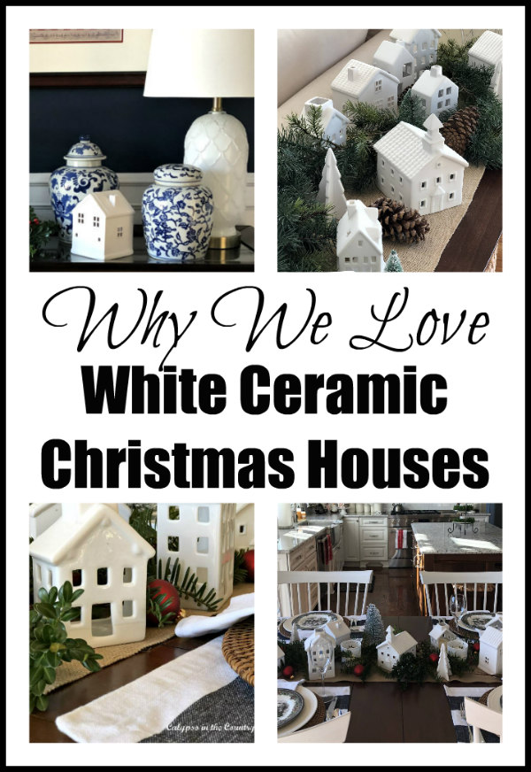 Why We Love White Ceramic Christmas Houses