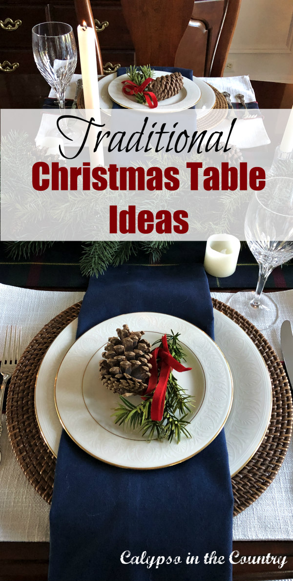 Traditional Christmas Table Ideas