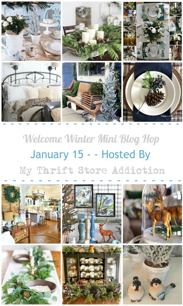 Welcome Winter Blog Hop Collage