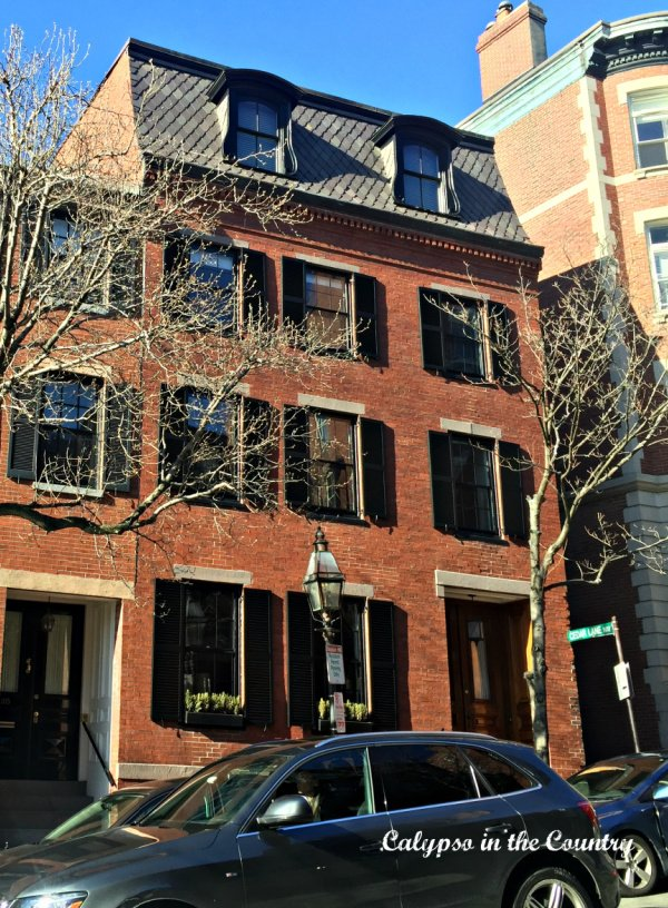 Boston Beacon Hill Houses - Classic New England Style
