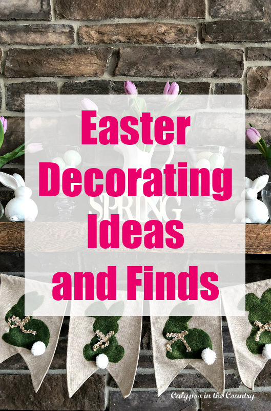 Easter decorating ideas and finds