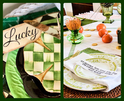 St. Patrick's Day table ideas