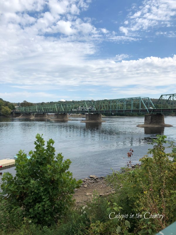 River and Bridge - summer road trips