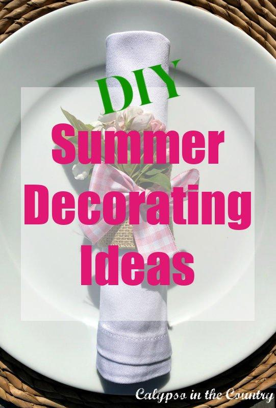DIY Summer Decor Ideas