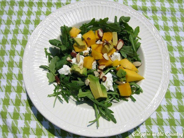 Arugula salad - simple summer pleasures