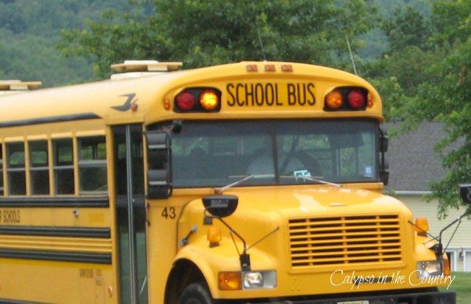 School bus - September is here