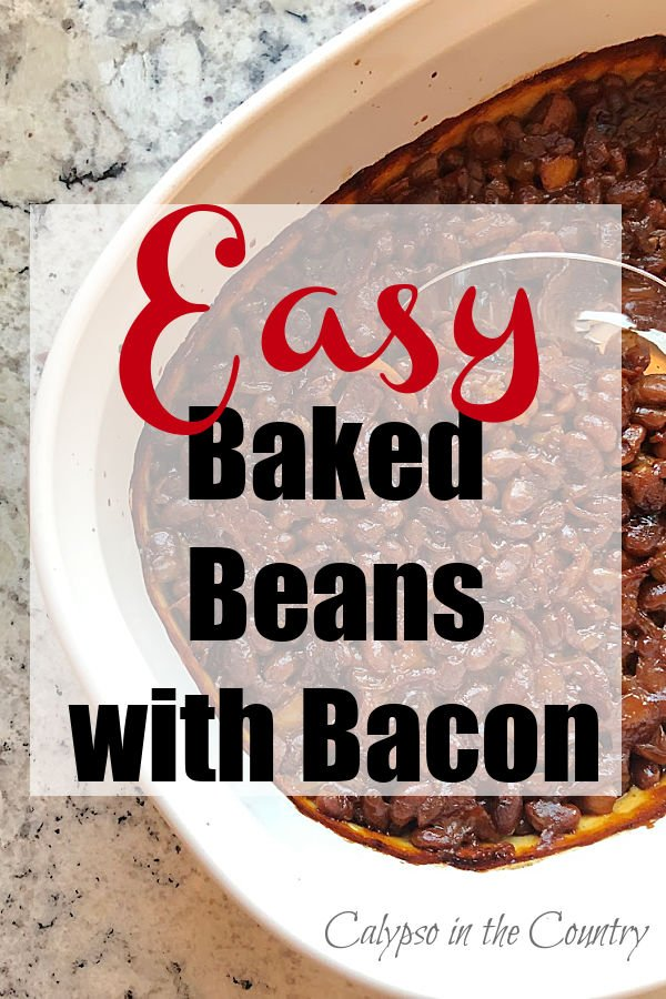 Easy recipe for baked beans with bacon
