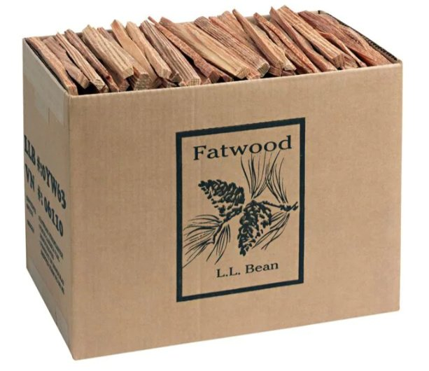 Box of Fatwood fire starters
