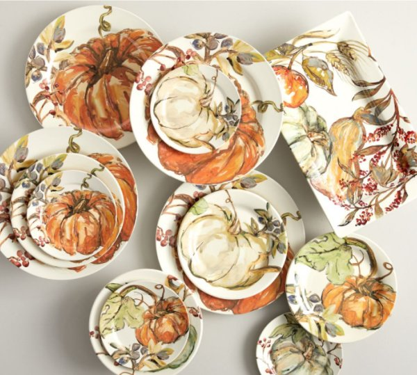 pumpkin dishes for fall entertaining