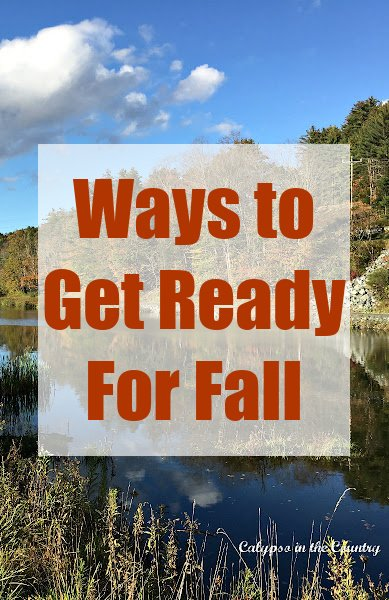 Ways to Get Ready for Fall